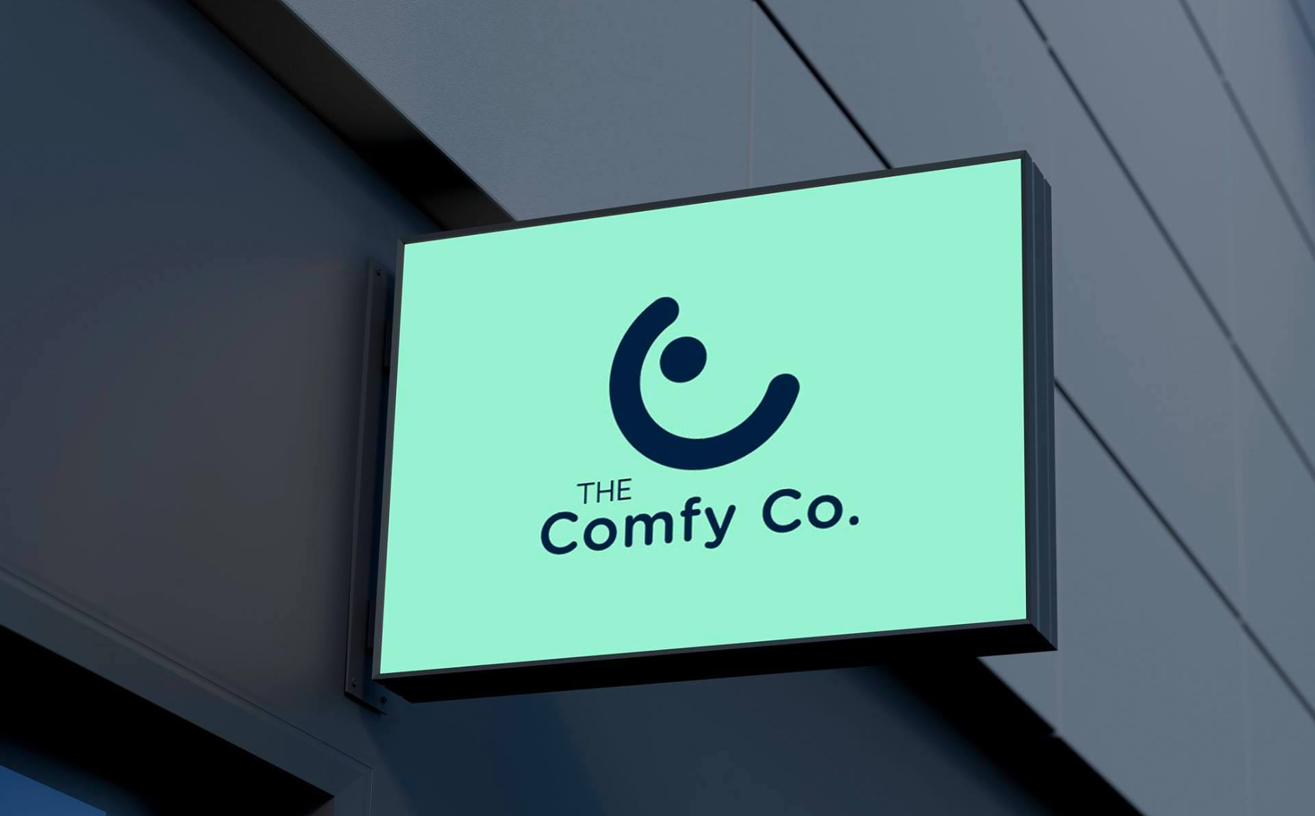 The Comfy Co branding
